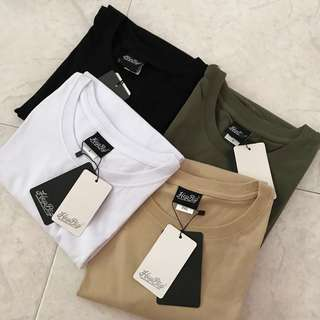 🆕🇰🇷 Basic Oversized Plain Tee