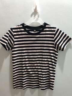 Uni Qlo Stripes shirt