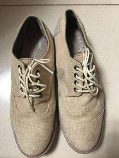 TOMS Canvass Lace up Shoes (Repriced)