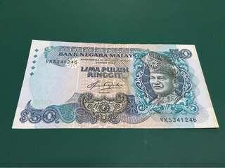 RM 50 AZIZ TAHA