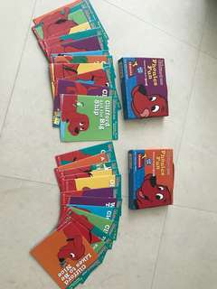 Clifford The Big Red Dog Phonics Reading Packs 2 &3