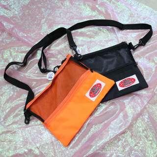 網狀造型中性側背包