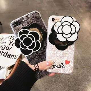 iPhone 8plus 山茶花case 黑