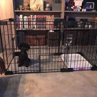 Pet Dog Easy Potty Train Playpen/Cage INSTOCK