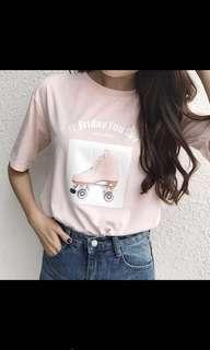 🚚 卡通印花T恤💕