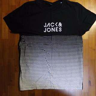Jack & And Jones Contrast Graphic Tee Shirt T-shirt