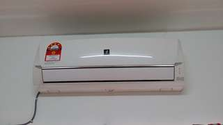 Sharp Aircond. 1hp Plasmacuster. Inverter Unit safe power