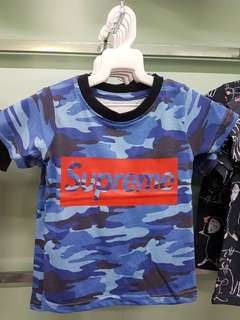 Supreme T-shirt 100% cotton