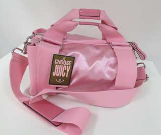 Juicy couture Pink Silk Tote bag