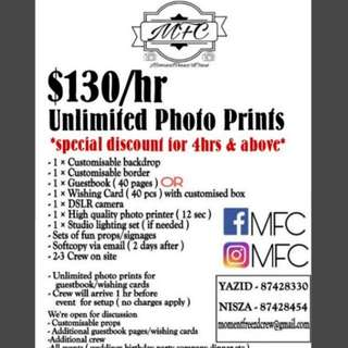 MFC - MOMENTFREEZ'D CREW PHOTOBOOTH  WEDDING PHOTOGRAPHER/VIDEOGRAPHER ALSO AVAILABLE (DIFFERENT RATE)