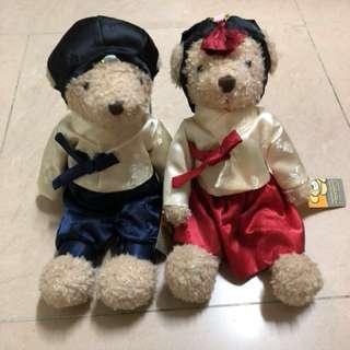 韓國 Teddy Bear Museum 設計師熊 啤啤 結婚公仔