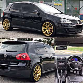 SAMBUNG BAYAR / CONTINUE LOAN  VOLKSWAGEN GOLF GTI 2.0 YEAR 2007