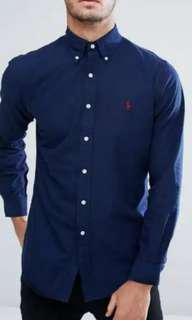 Polo Ralph Lauren Shirt Indigo Blue (L EU52)