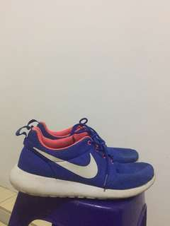 Nike rosh run blue/orange