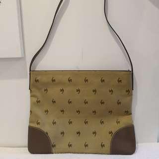 Authentic Le Coq Sportif Large But Slim Unisex Messenger Bag: Repriced