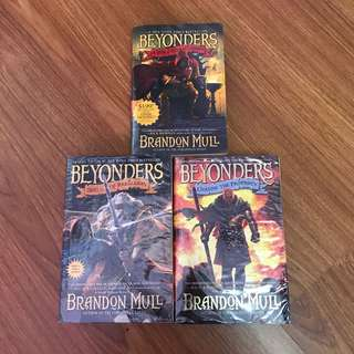 Beyonders (Trilogy pack)