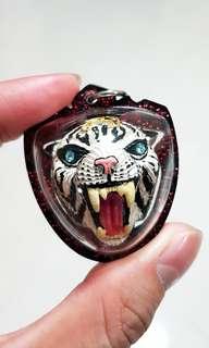 LP Pern Tiger Head Amulet