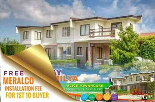 HOUSE AND LOT LOW DOWNPAYMENT NA, INSTALLMENT PA