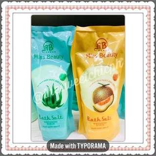 AB Miss Beauty Whitening Scrub Bath Salt Refill 300g