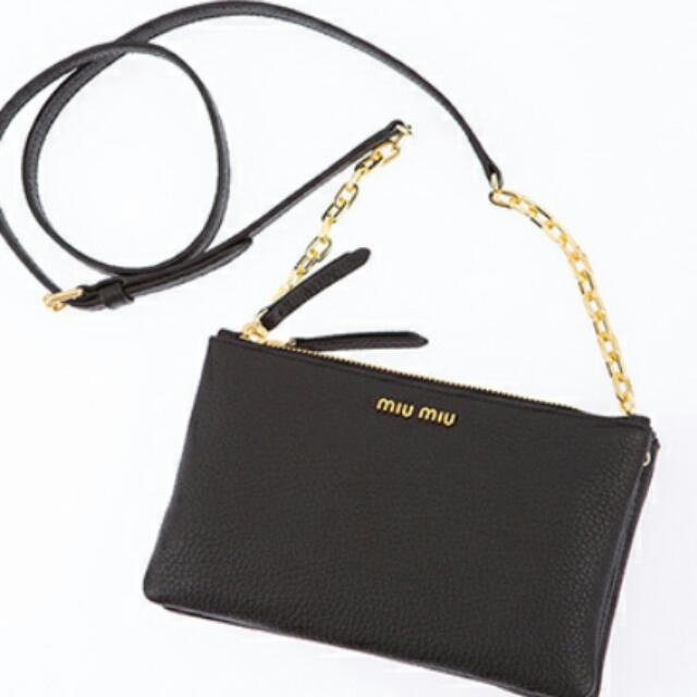 399 Fast deal Miu Miu Sling Bag AUTHENTIC Bought In Italy For ... 530d39f005