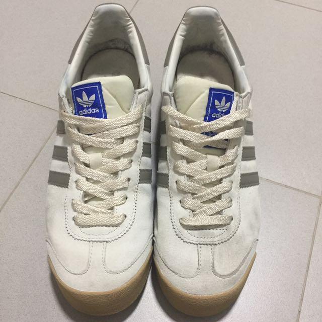 1dbe0715d Adidas Samoa( Light cream) Size UK10