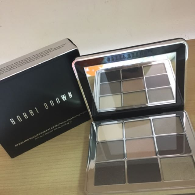 Authentic Bobbi Brown Sterling Night Eye Palette Health Beauty
