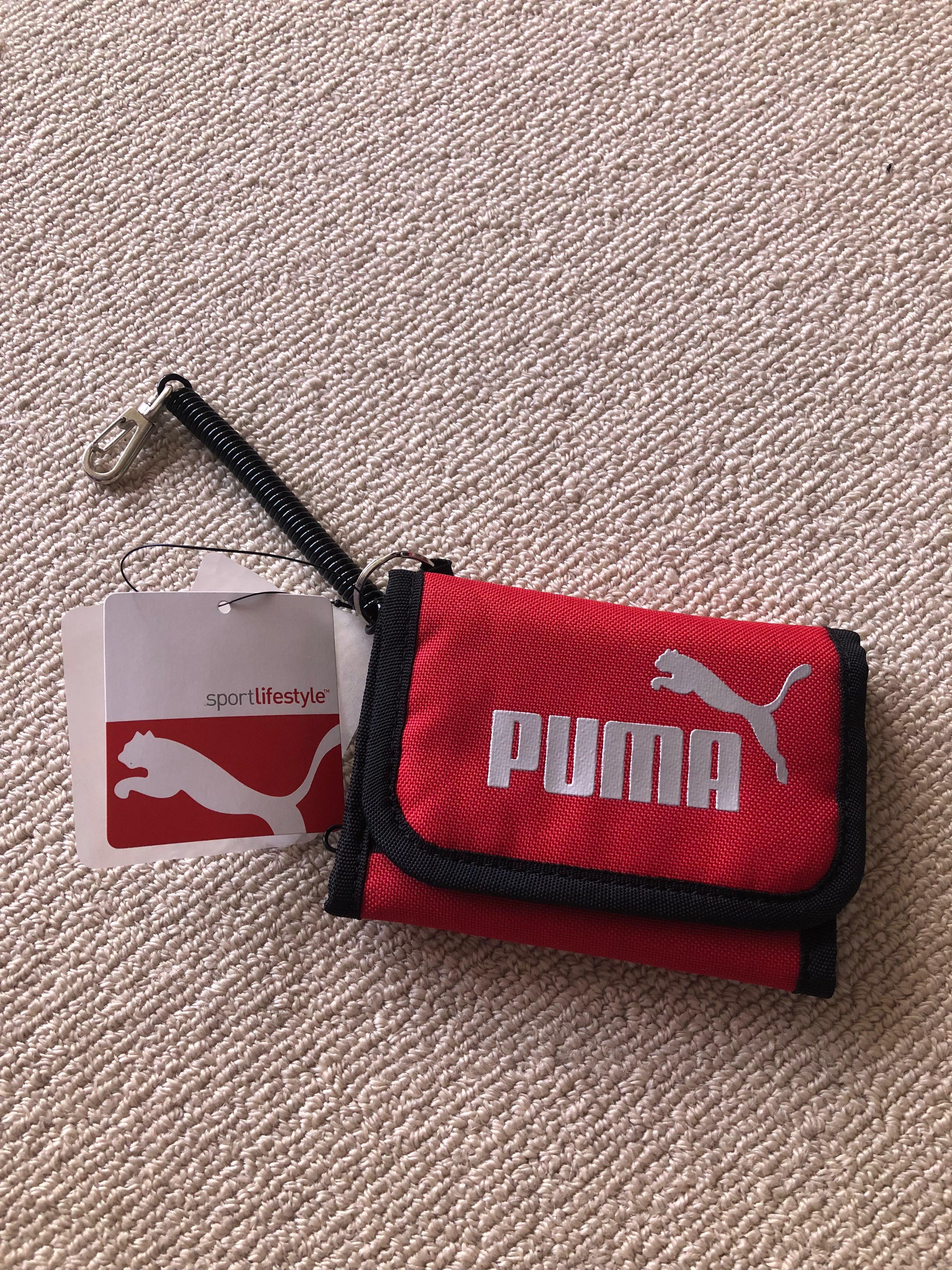 326fc58c79 Brand new Puma men red wallet