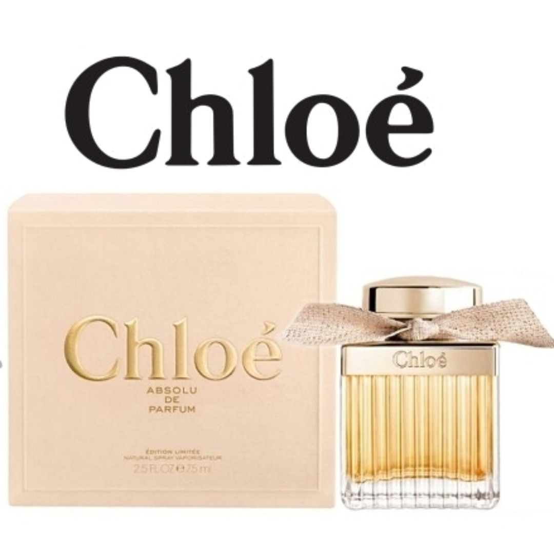 Chloe Absolute Edp 50ml Or 75ml Pre Order From Changi Airport