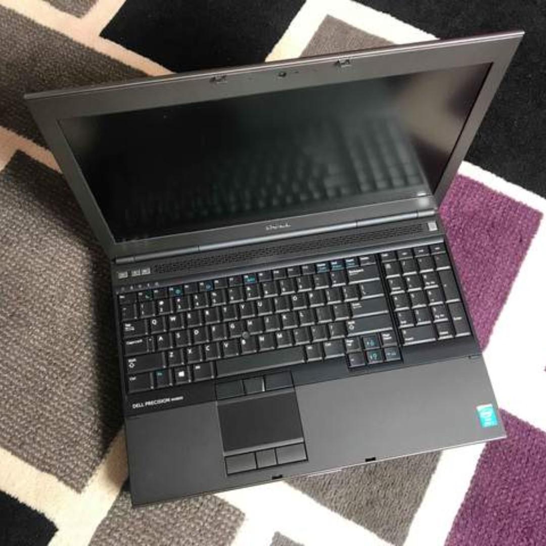 Dell Precision M4800 Core i7 Haswell 24GB 500HDD NVIDIA