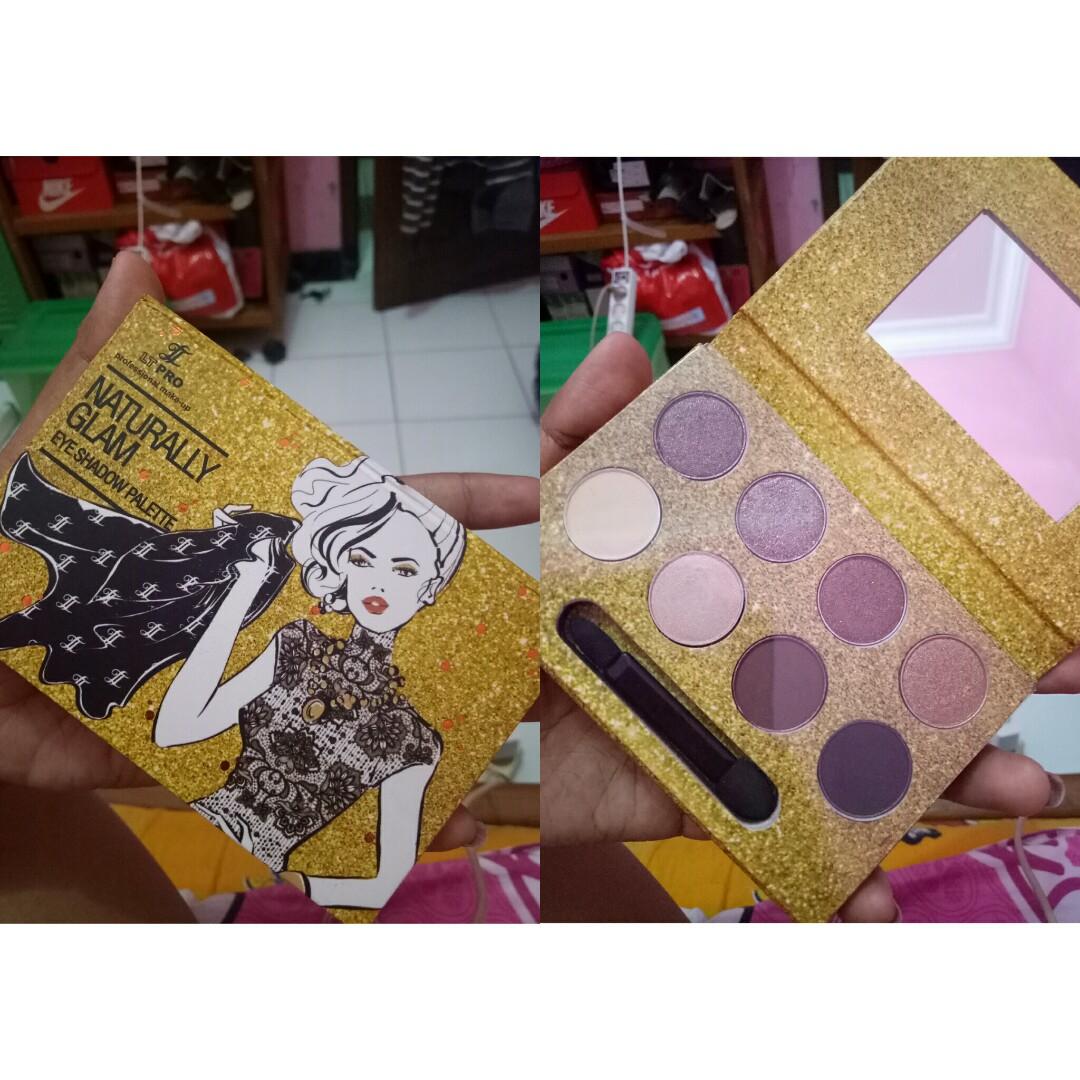 Eyeshadow Palette Lt Pro Kesehatan Kecantikan Rias Wajah Di Naturally Glam Eye Shadow Photo