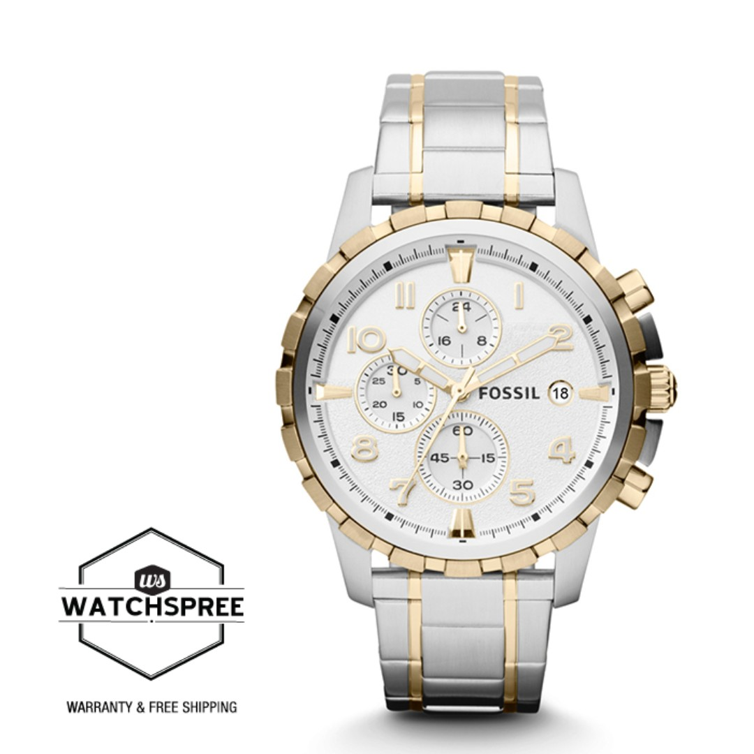 FREE DELIVERY *FOSSIL GENUINE* [FS4795] 100% Authentic with