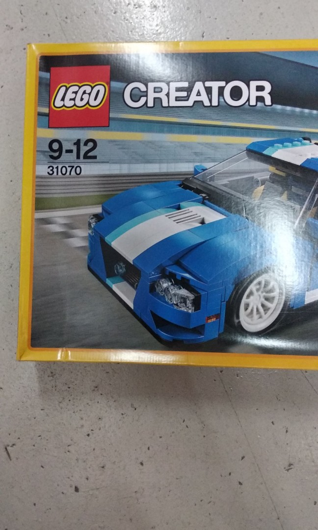 Gss Sale Authentic New Sealed Lego 31070 Creator Turbo Track Racer