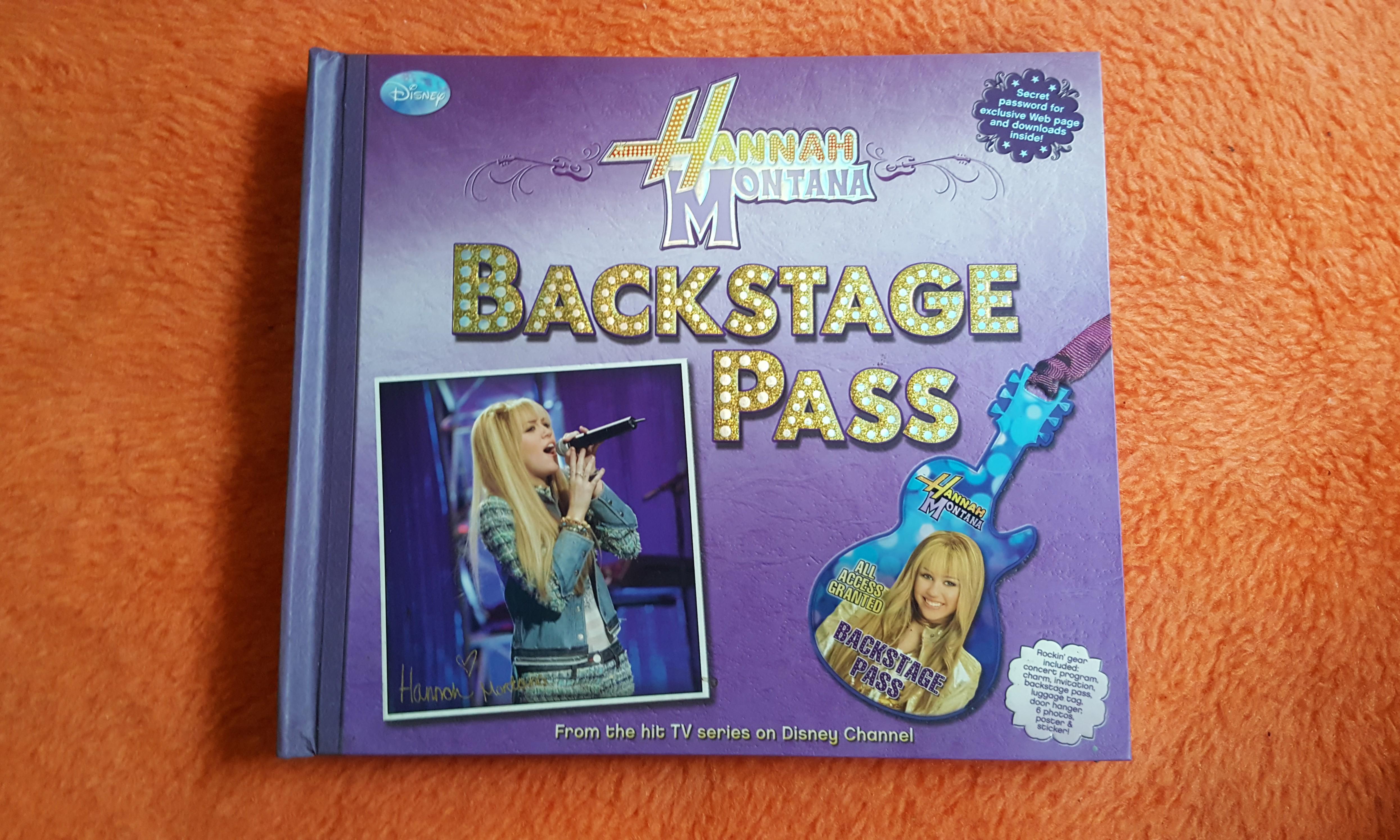Hannah Montana Backstage Pass on Carousell