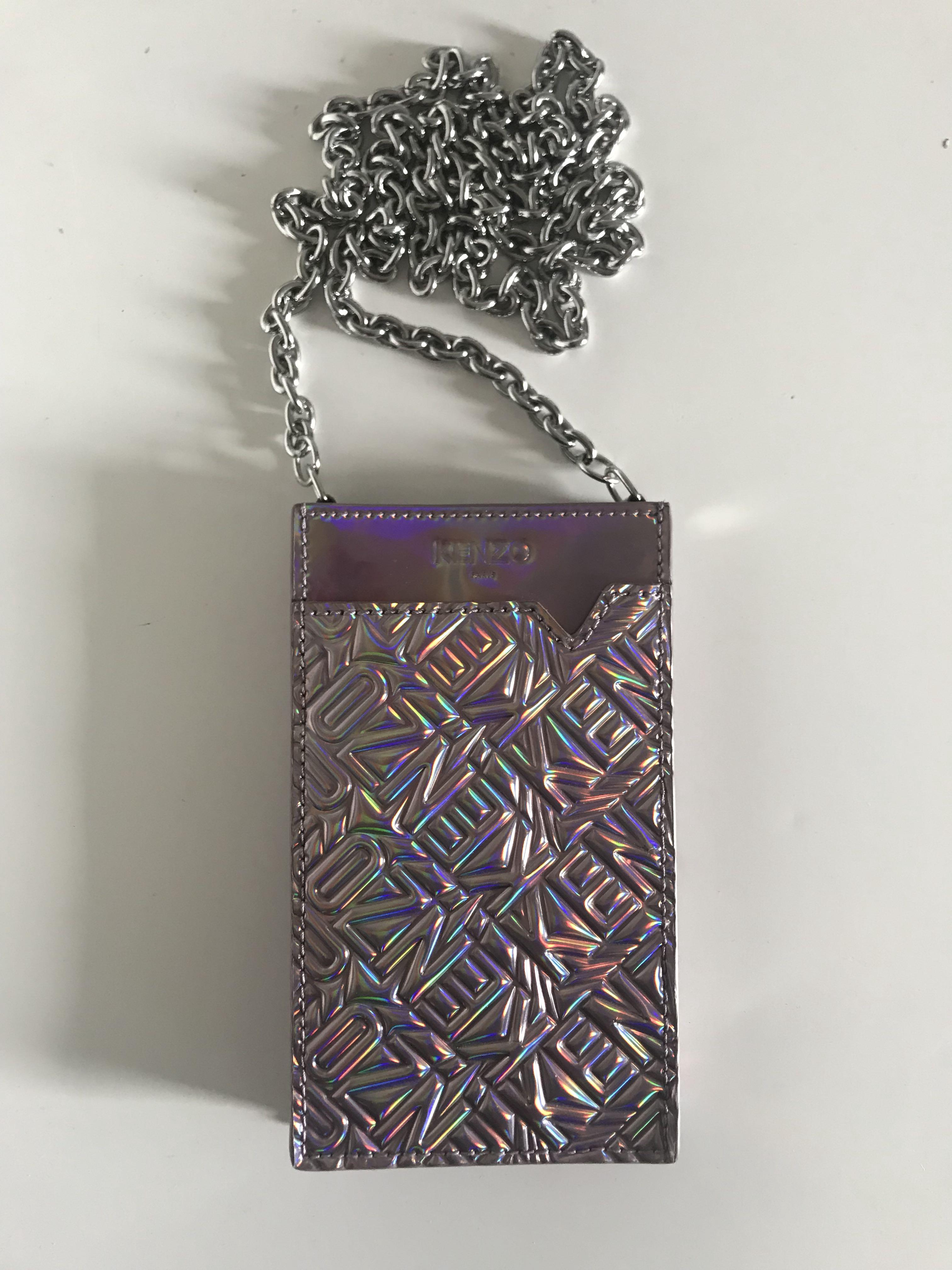 KENZO embossed phone bag