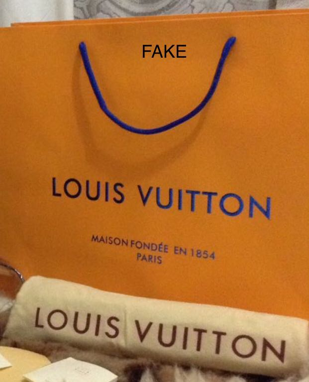 737e32f492c LOUIS VUITTON LV PAPER BAG  FAKE OR ORIGINAL, Luxury, Bags   Wallets on  Carousell