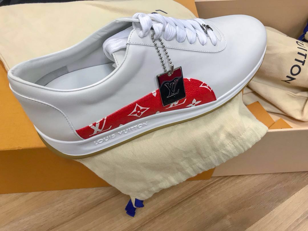 9be6941dced530 Louis Vuitton X Supreme Monogram Sneakers