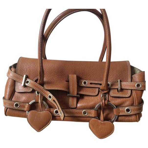 18b5871509f4 Luella Bartley Baby Gisele Leather Bag (Tan)