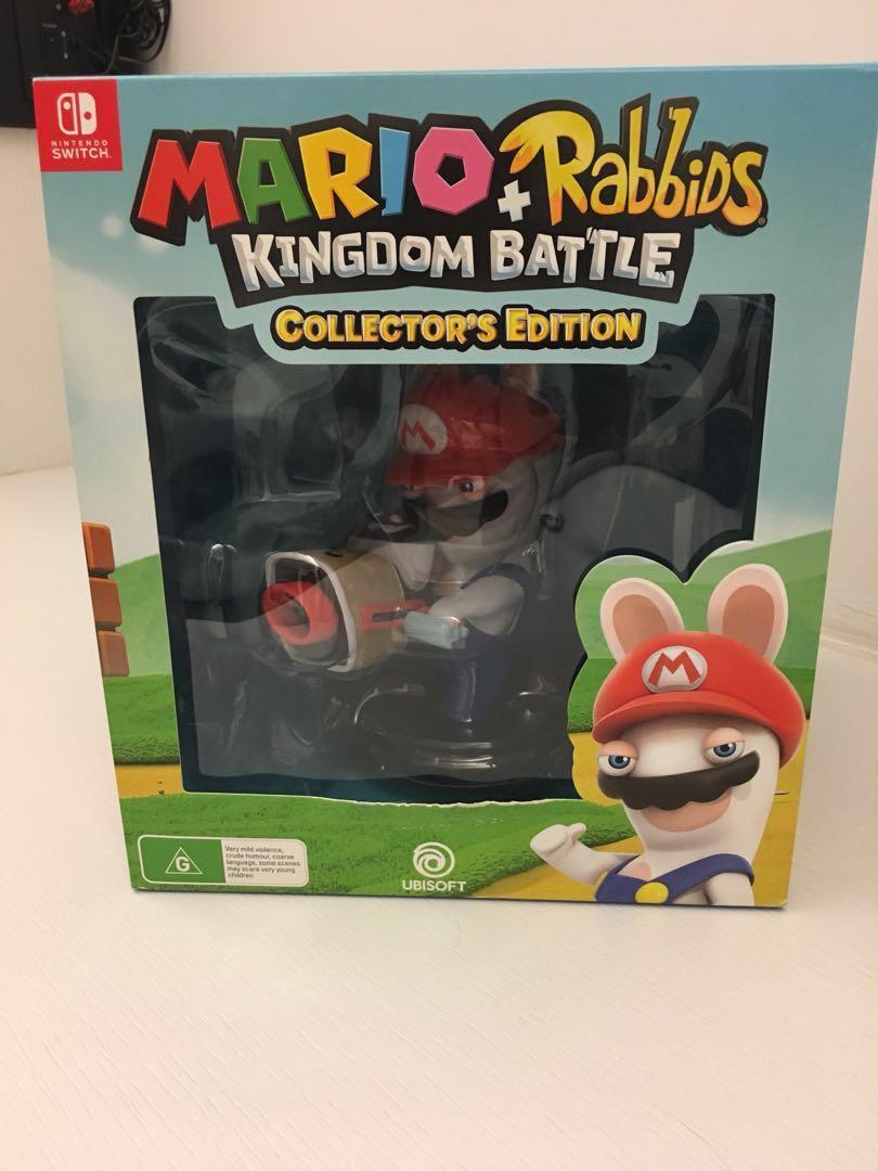 mario + rabbids kingdom battle edition collector