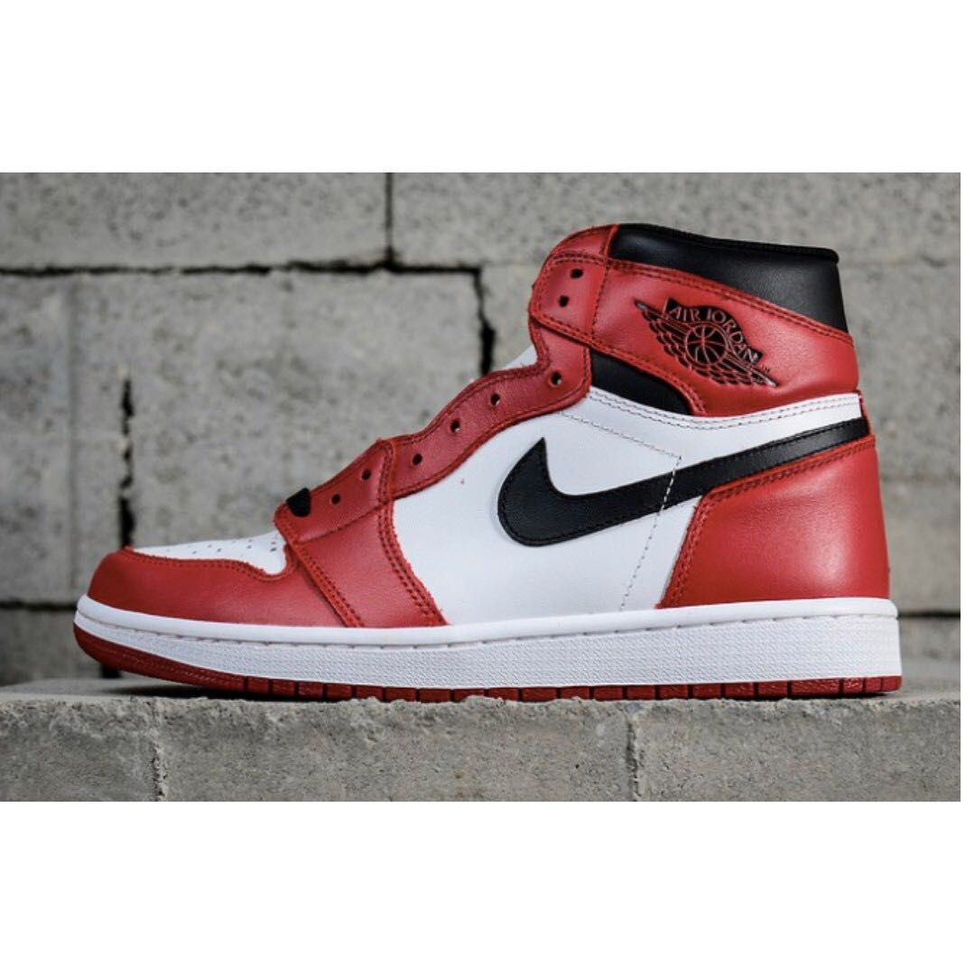 super popular afb62 09b89 Nike Air Jordan 1 Retro High OG Shoes, Men s Fashion, Footwear ...