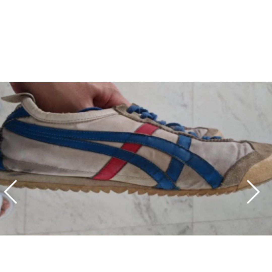 quality design 09e7d e1b8c Onitsuka Tiger Mexico 66 DX NYL - White/BlueRed stripes ...