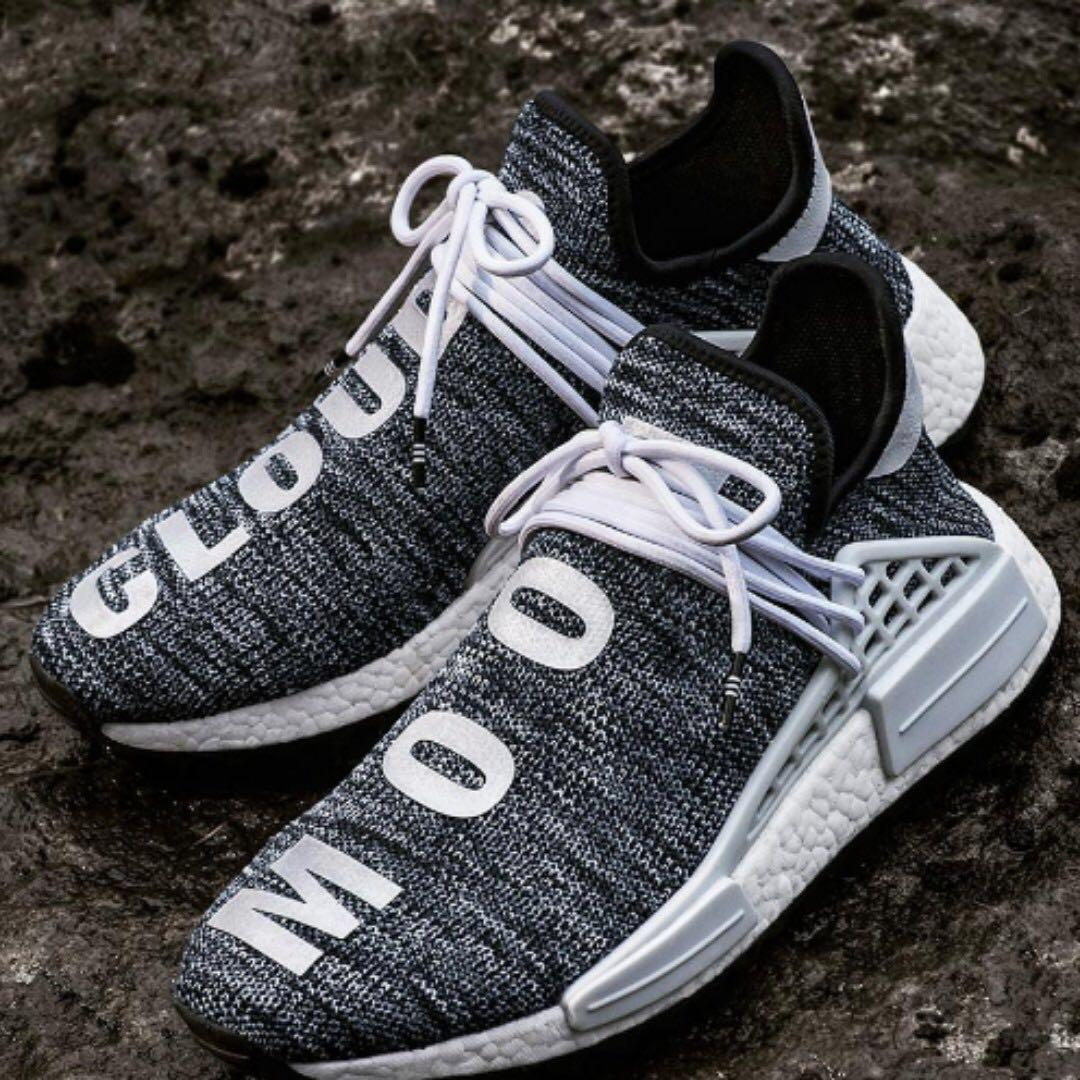 hot sale online acf95 88837 Pharrell Williams x Adidas Human Race NMD TR Core Black ...