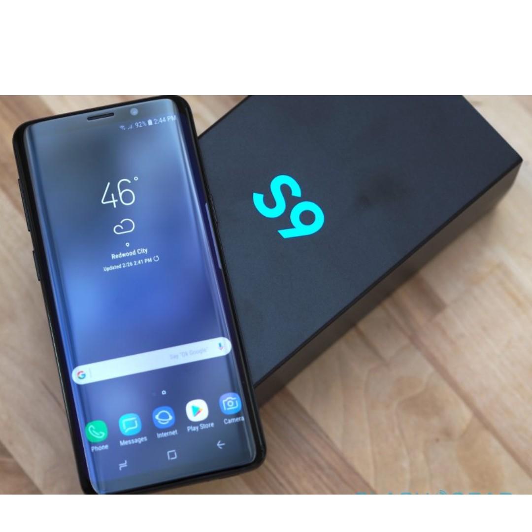 Samsung galaxy S9 64GB, Black for sale (warranty - Mar 2019)
