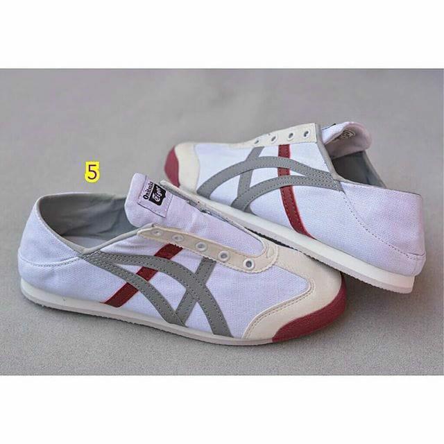 timeless design 56880 71046 Sepatu asics onitsuka tiger wanita cewek keren kekinian ...