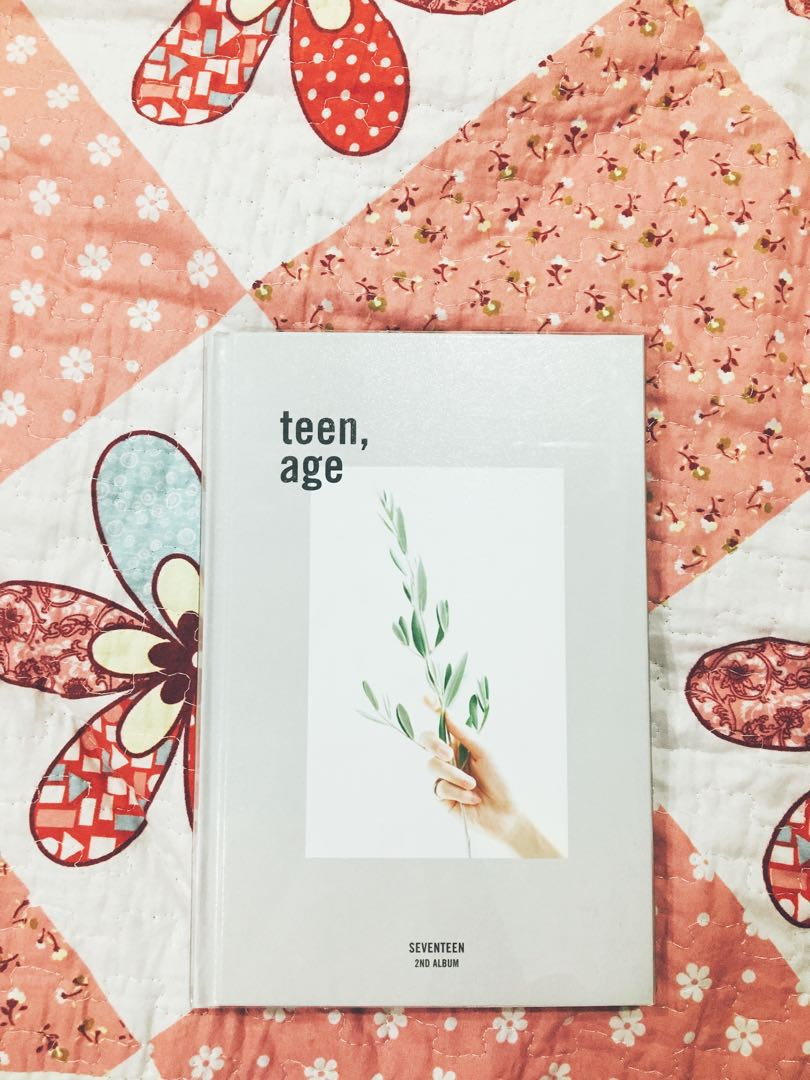Seventeen Teen Age 2nd Album White K Wave Di Carousell Photo