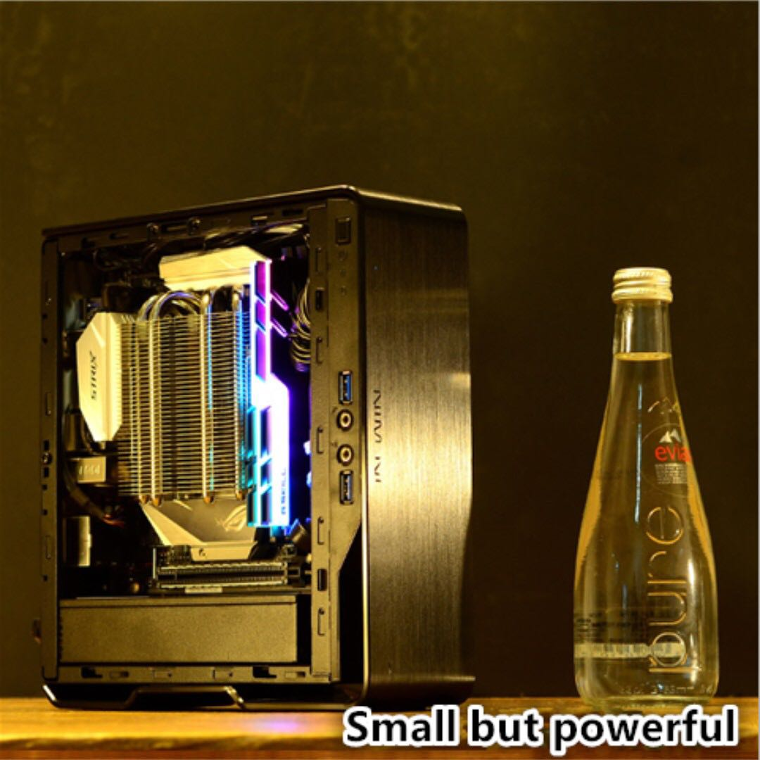 Shrapnel V8 mini gaming PC HTPC( run LOL DOTA2 CSGO OVERWATCH FORNITE WOW  smoothly) amd ryzen 2200g vega 8