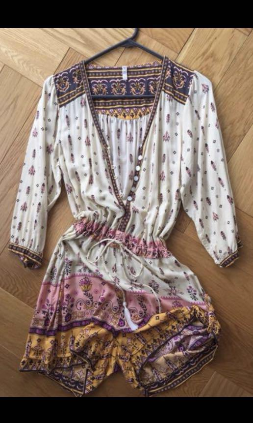 Spell and the Gypsy Playsuit size 8