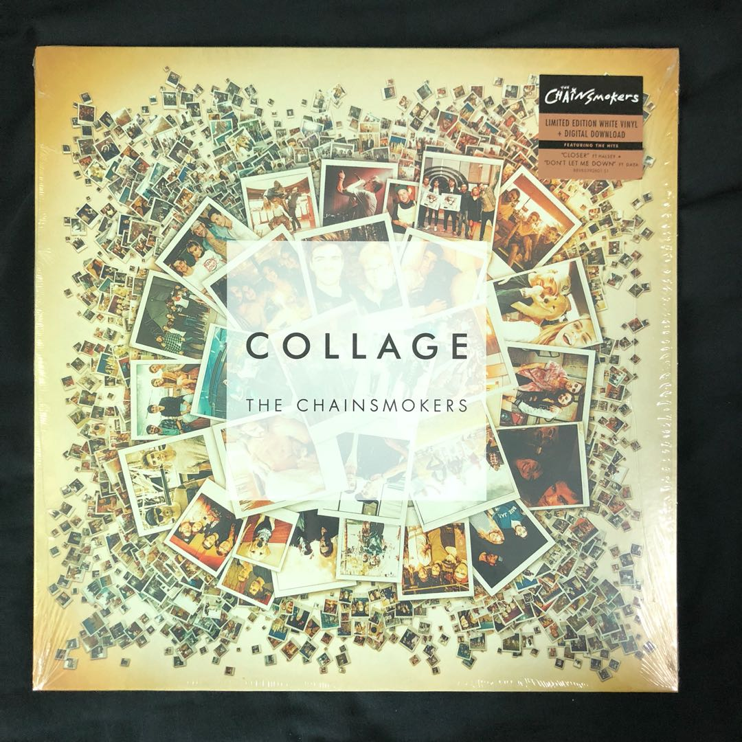 The Chainsmokers Collage Ep Limited Edition White Vinyl Music