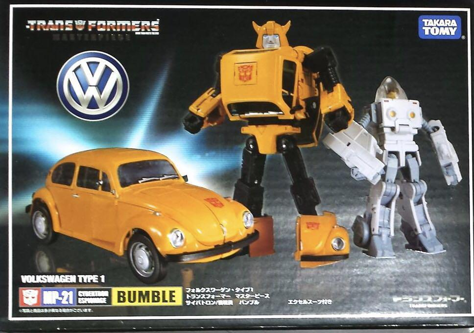 Transformers Masterpiece MP-21 Bumblebee+Spike Action Figures New in Box