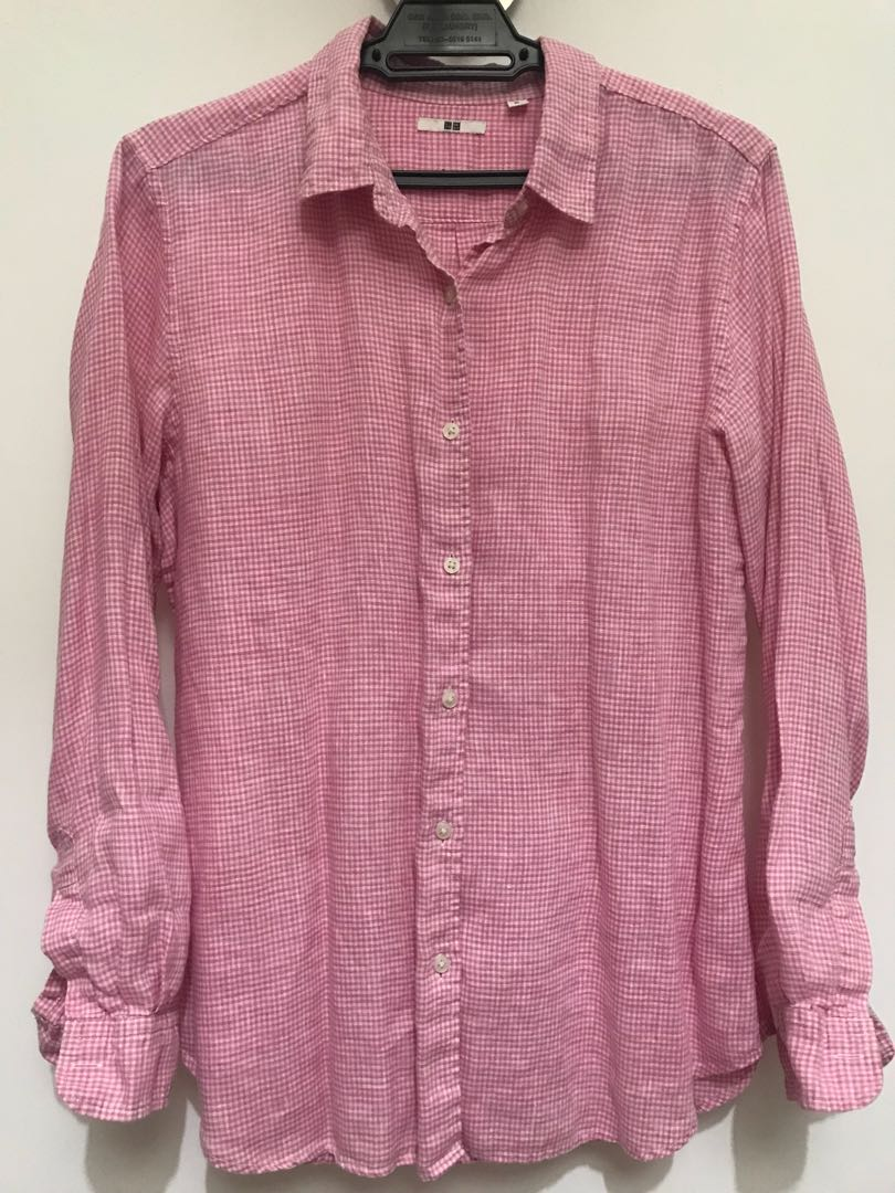 934d9707efd Pink Check Shirts Womens - DREAMWORKS