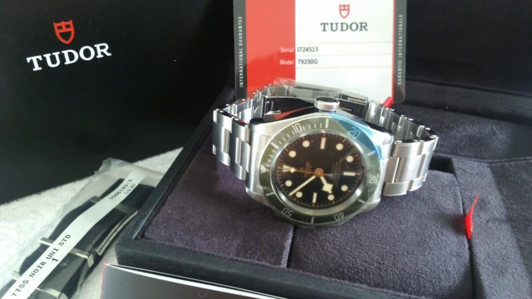 02073b10957 Unworn Tudor Heritage Black Bay Harrods Green, Luxury, Watches on Carousell